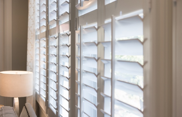 Honolulu faux wood shutters