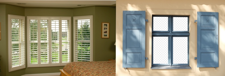 Honolulu HI exterior and interior shutters