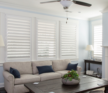 Shutters in Honolulu give you light control