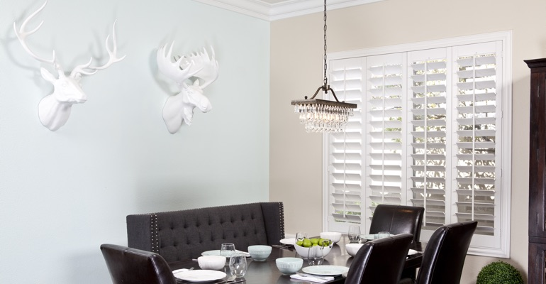 Honolulu dining room shutters