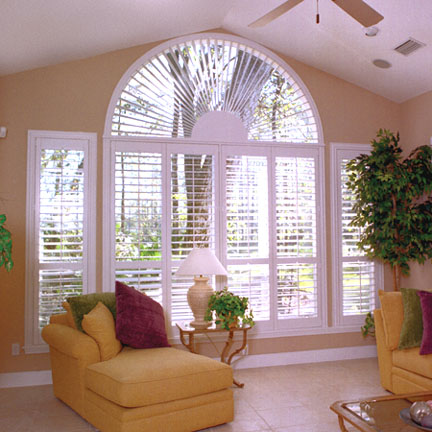 Half circle window shutter Honolulu
