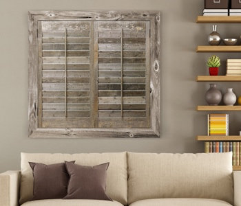 Reclaimed Wood Shutters Product In Honolulu