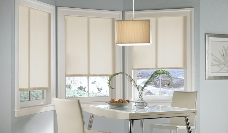 Honolulu solar roller shades