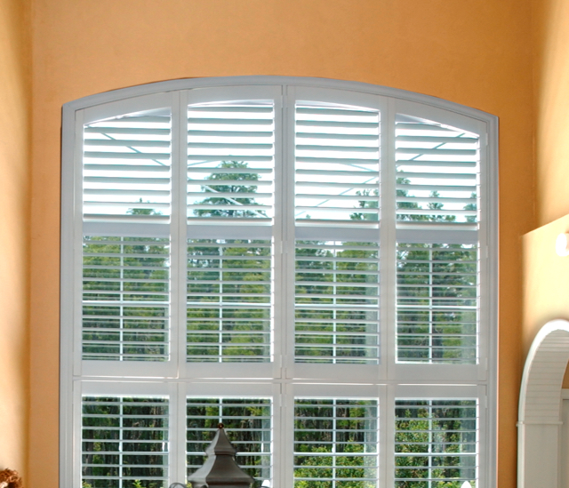 Arched Window Shutters In Honolulu, HI