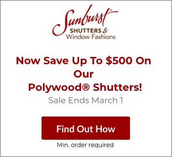 Sale on Honolulu Polywood Shutters