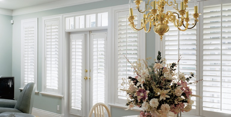 Honolulu sunroom polywood shutters