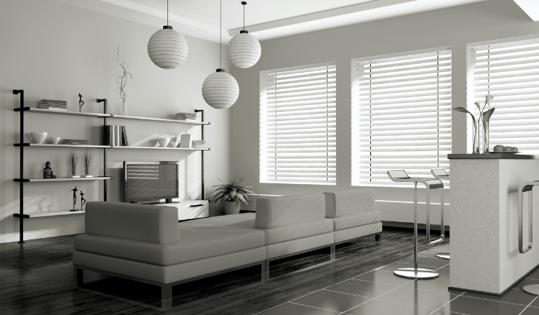 white blinds in Honolulu
