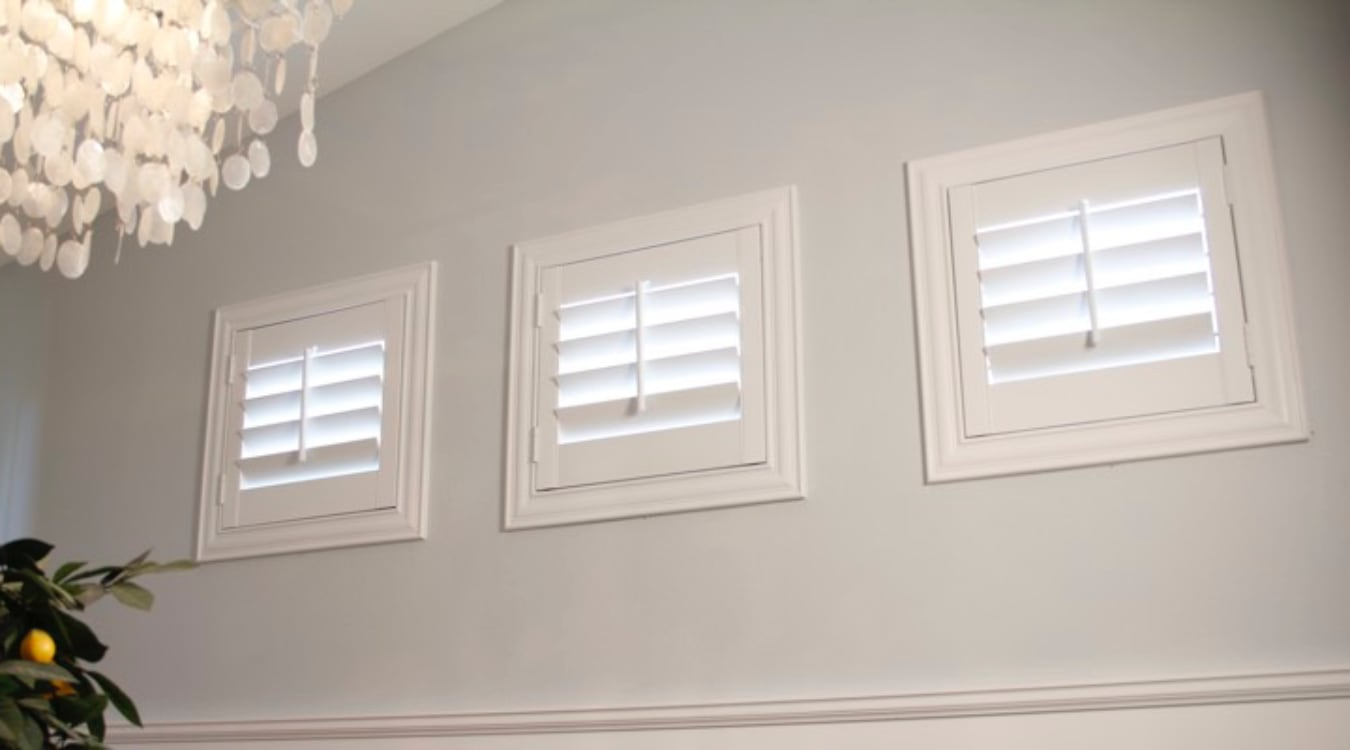 Honolulu small window shutters