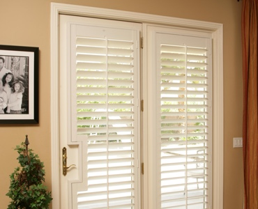 Honolulu french door shutters