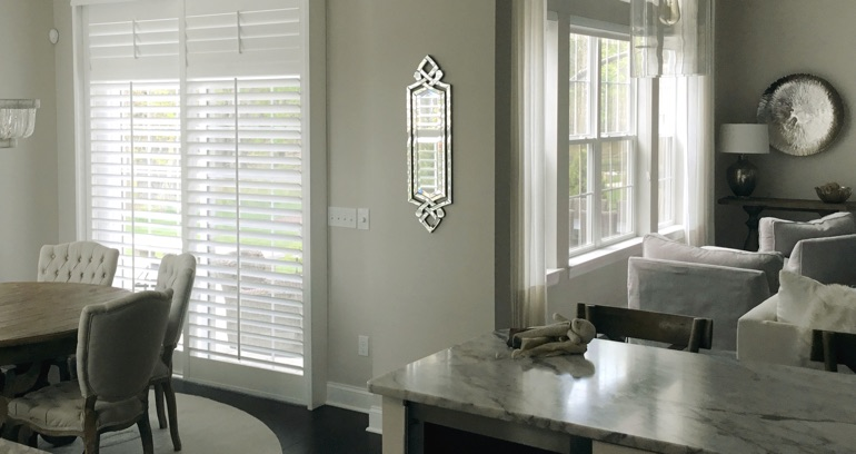 Honolulu kitchen sliding door shutters