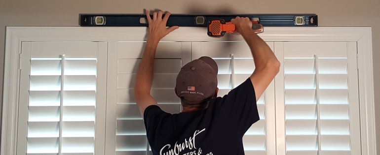 Honolulu shutter installation