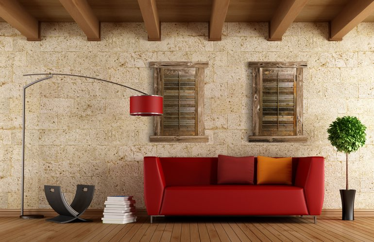 Hottest Trends In Window Treatments In Honolulu: Reclaimed Wood Shutters